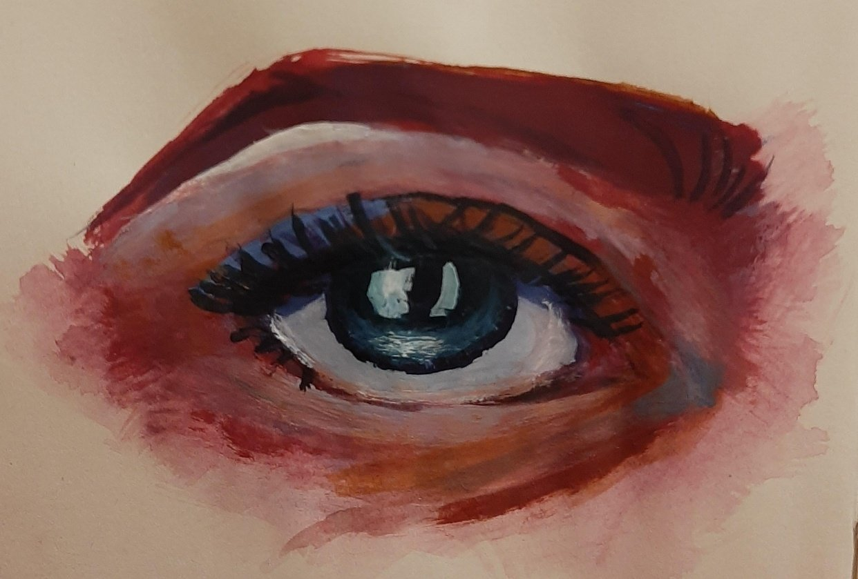 Eye Gouache May 2020 - student project