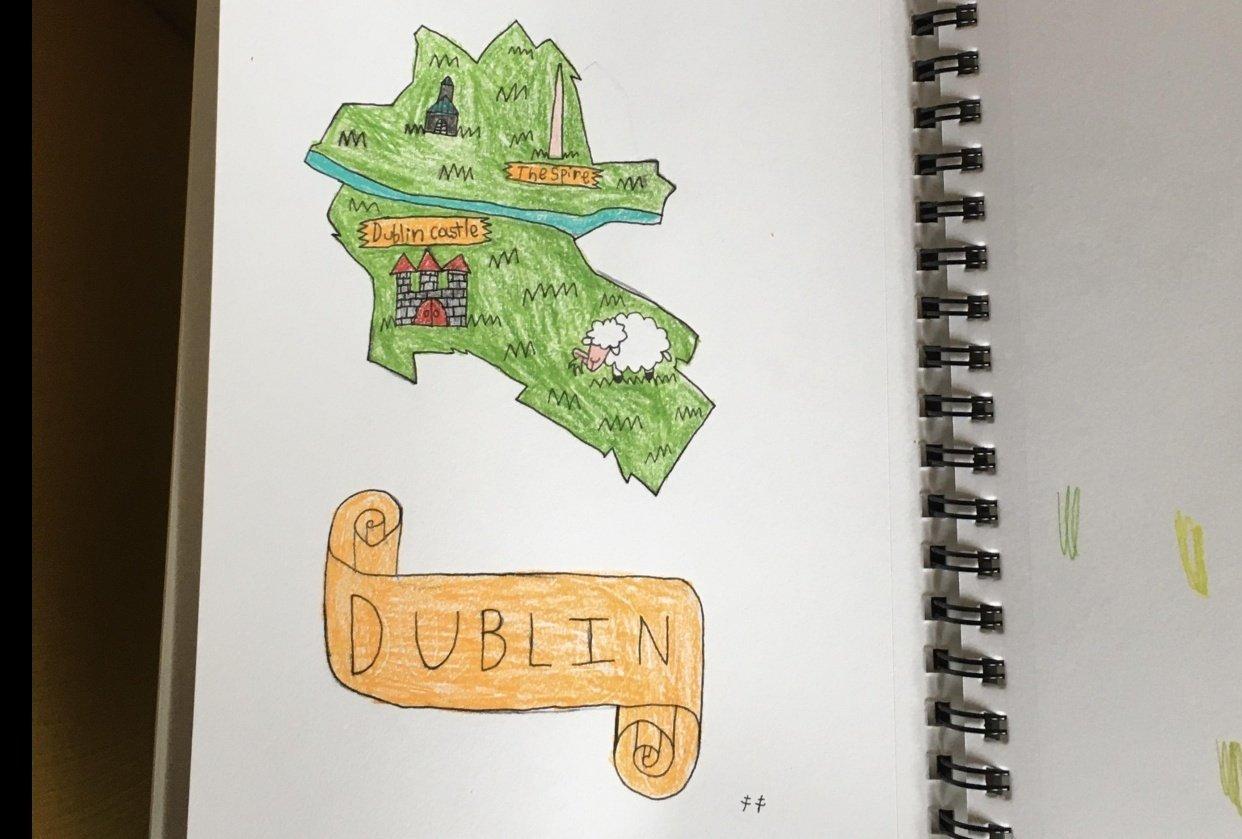 Dublin fun map - student project