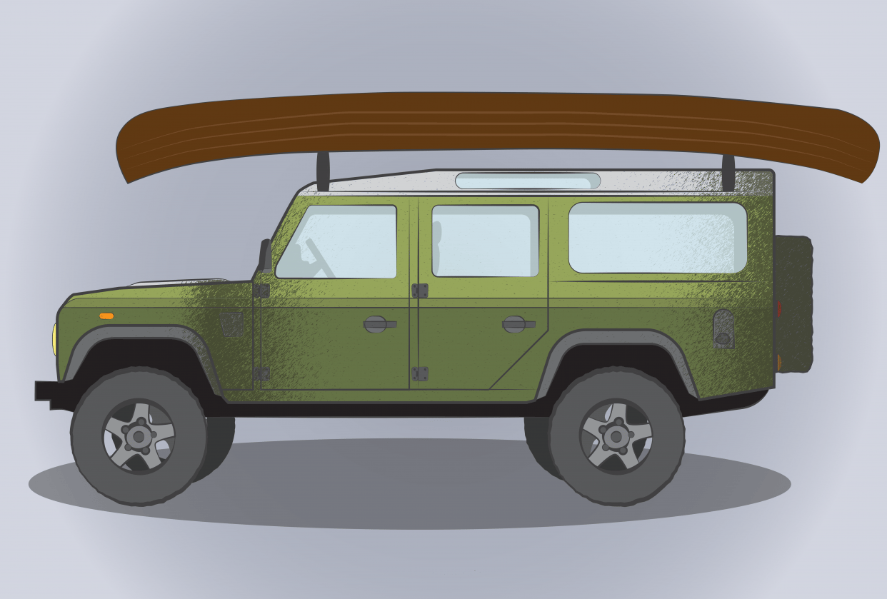 Land Rover Defender - student project
