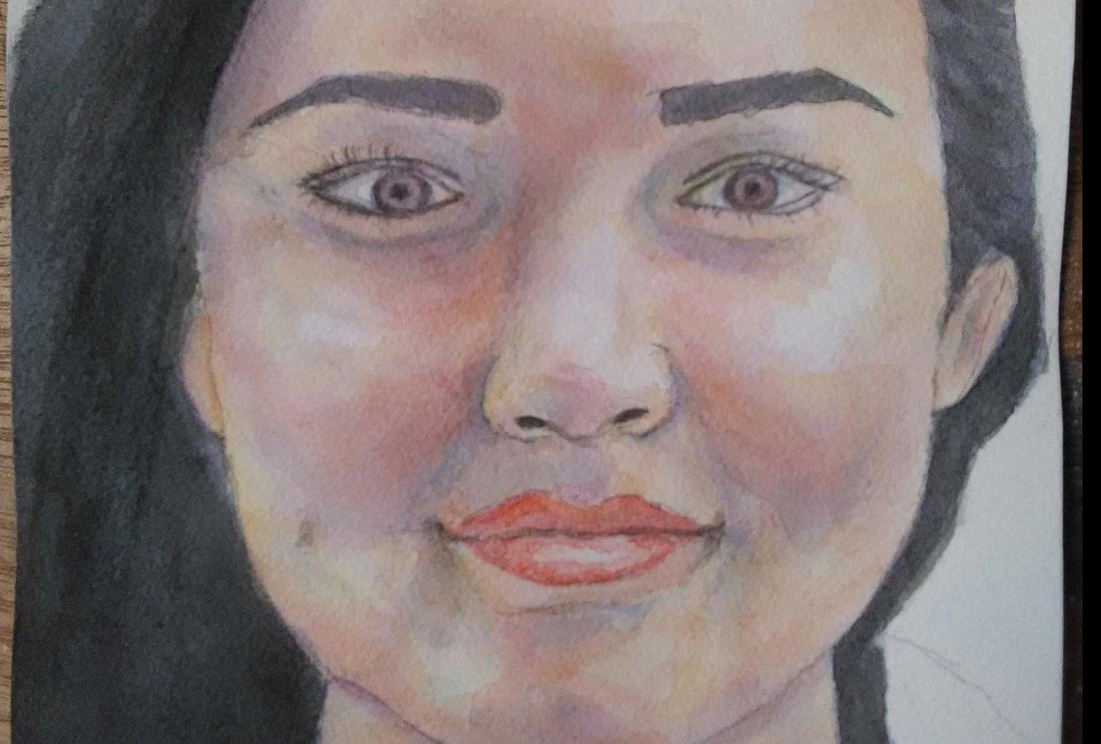 Portrait attempt - student project