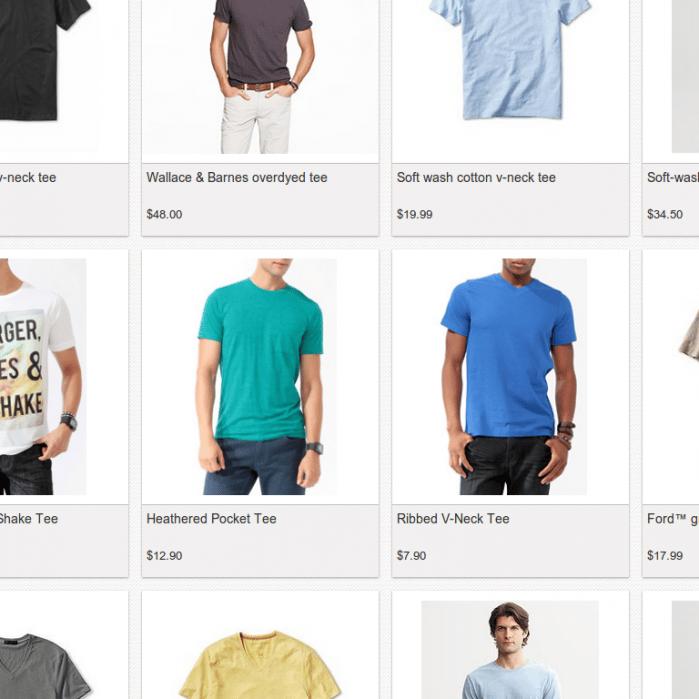 Vigi, simplifying online shopping - student project