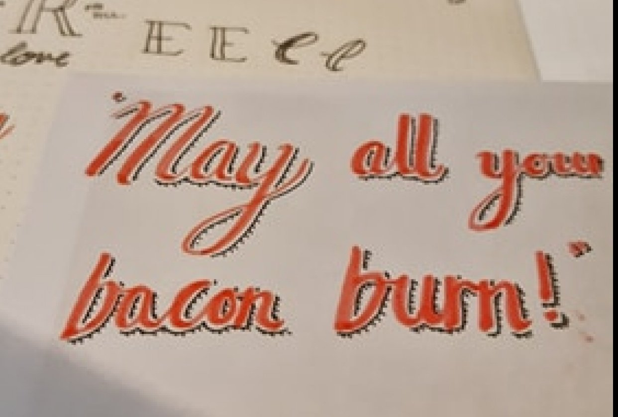 Calcifer Quote - student project