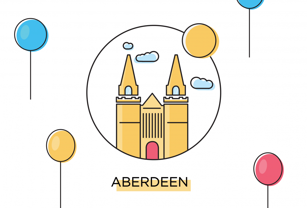 Aberdeen City Icon - student project