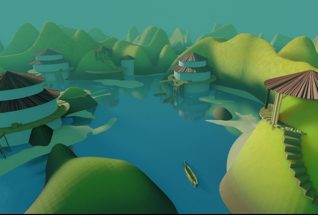 Fishing village - student project