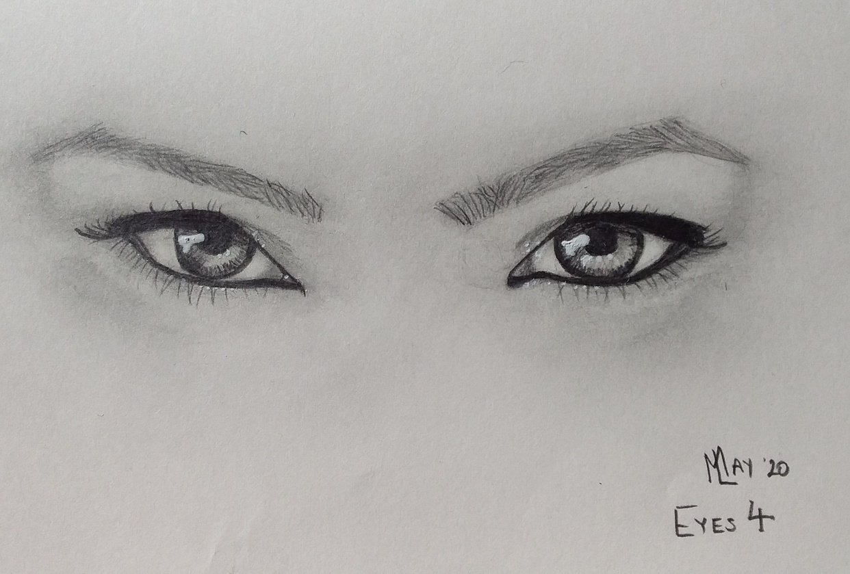 Sketch from eyes 4 - student project