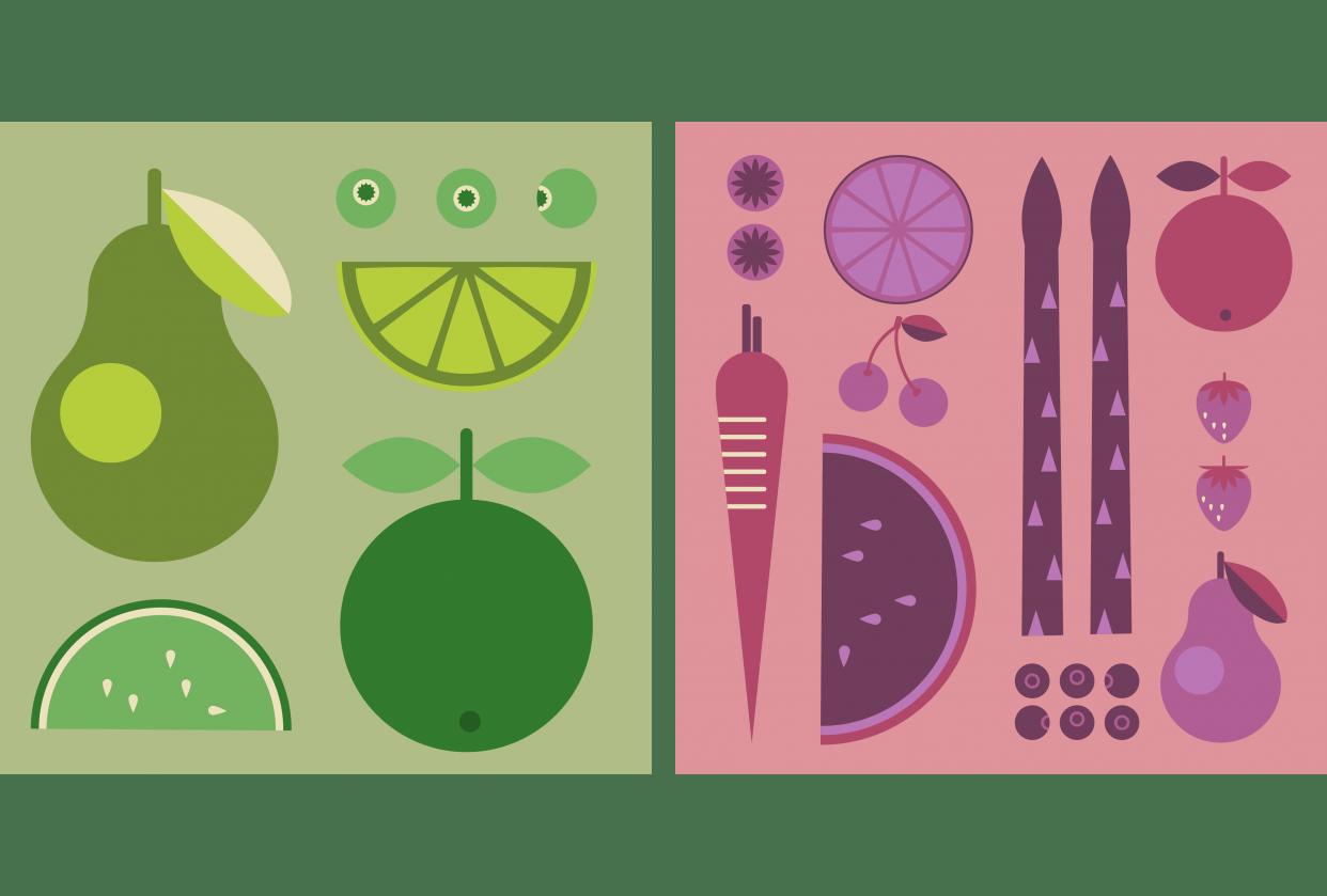 Fruit & Vegetables - student project