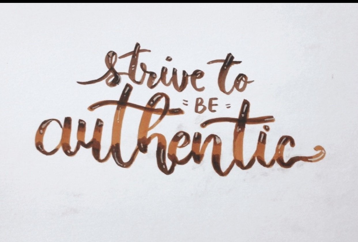 Authentic - student project
