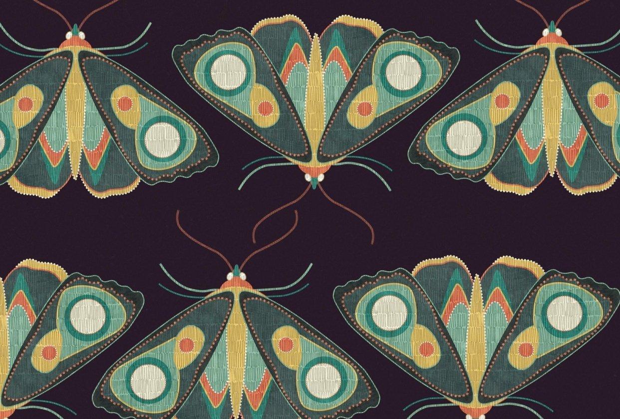 Pattern W.I.P + Moths - student project