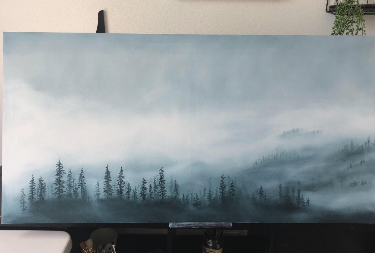 Misty Forest Try - student project
