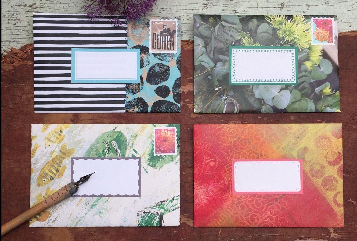 Envelope stash! - student project