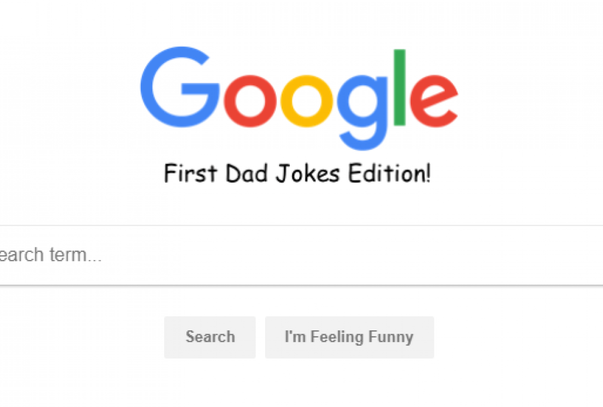 Dad Joke Search - student project