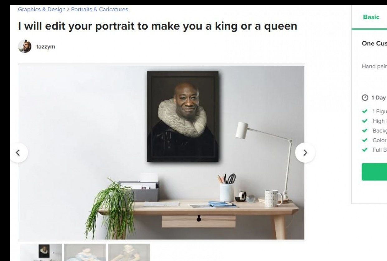 make you a king or a queen is my new gig - student project