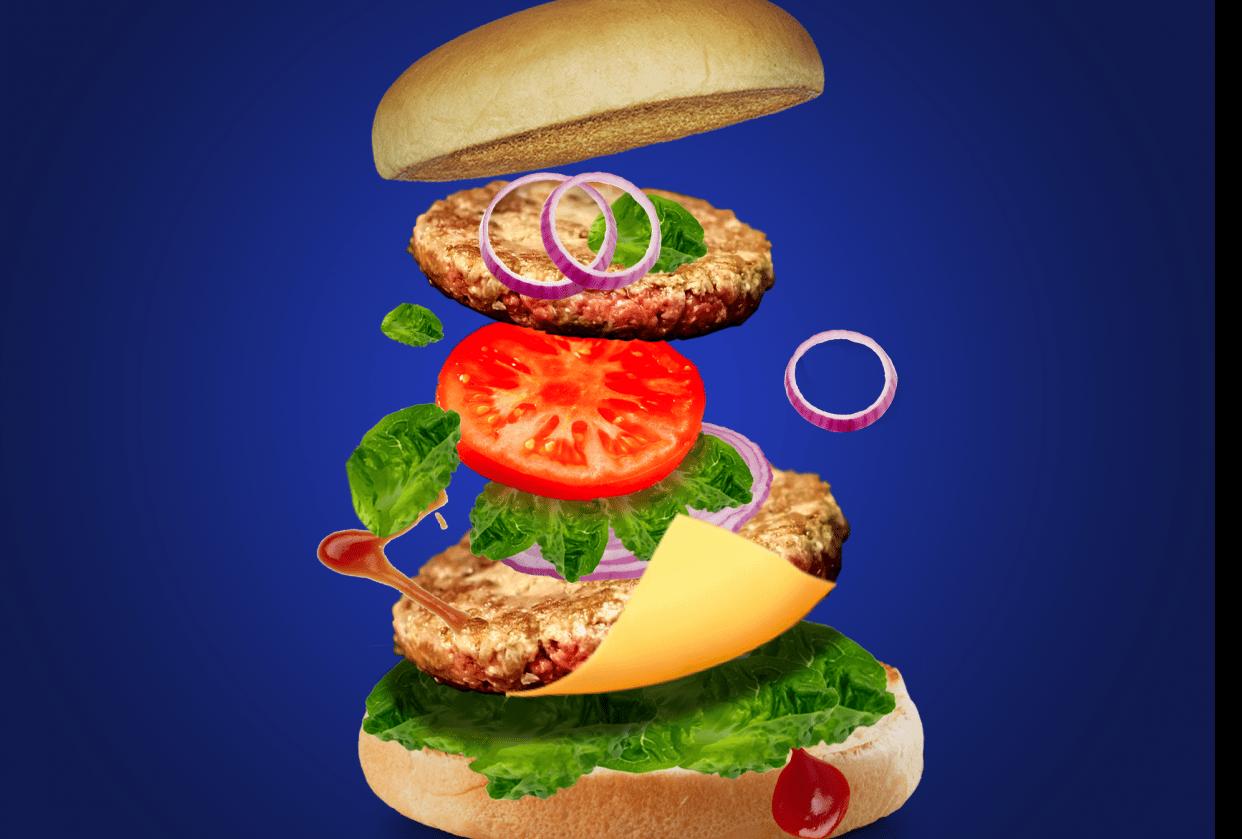 Burger Fluyer - student project