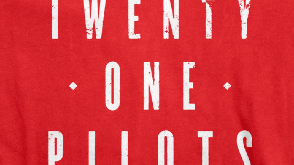 Twenty One Pilots: Band Tee Design - student project
