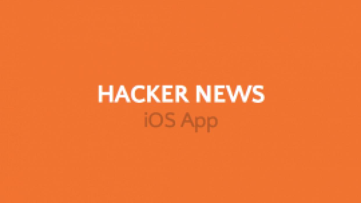 Hacker News iOS App - student project