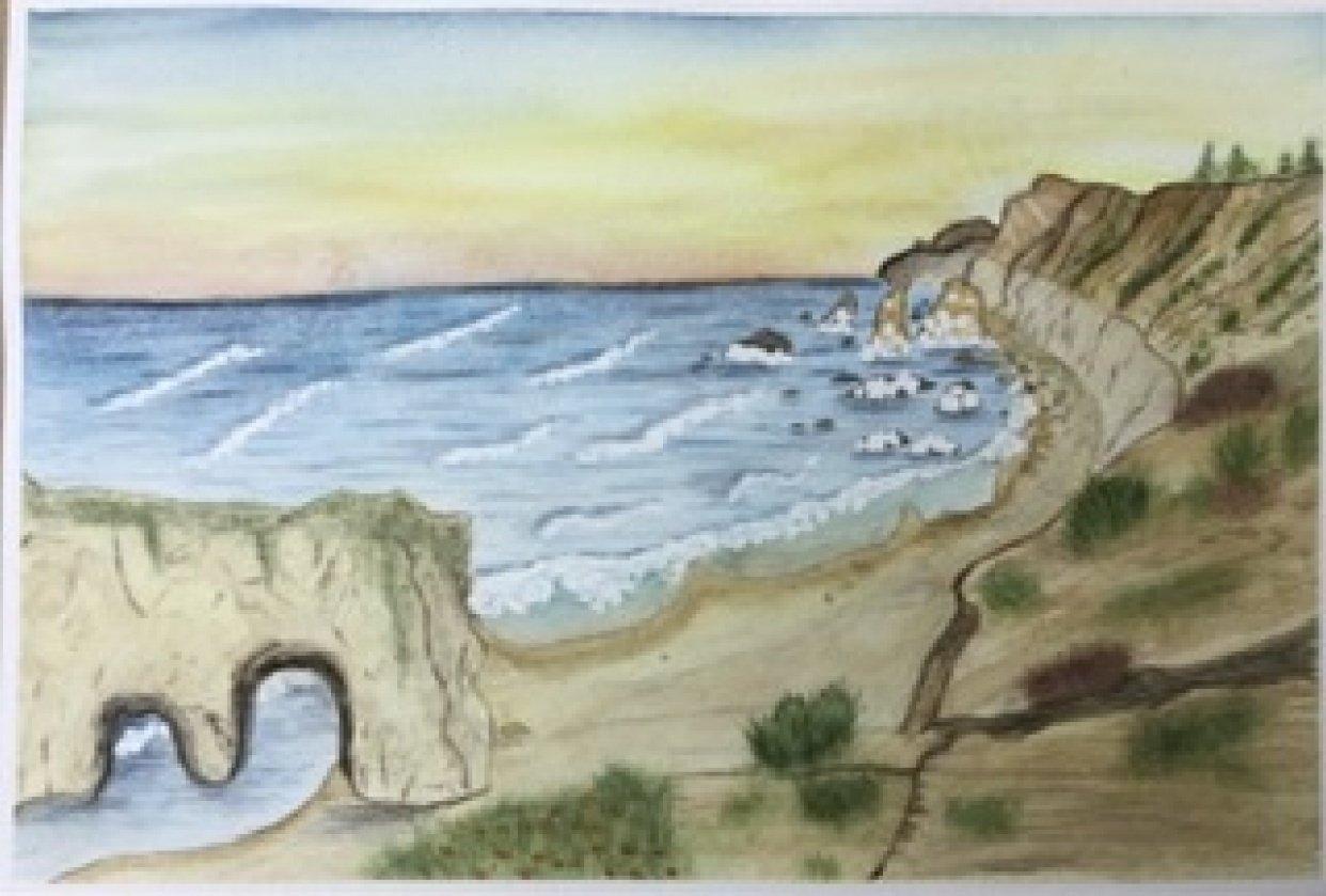 El Matador Beach - student project