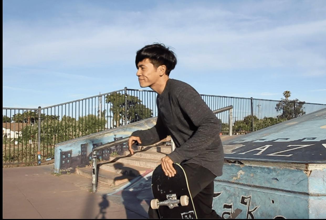 A Skateboarding Story - student project
