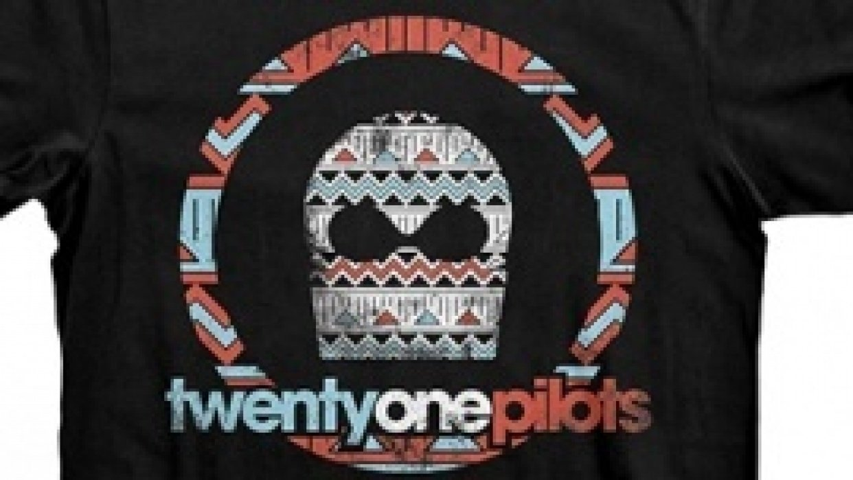 Twenty One Pilots beginning sketches and designs - student project