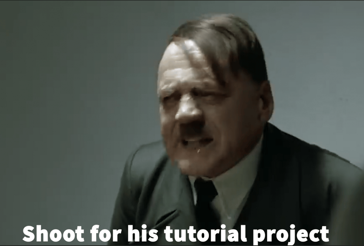 Hitler's walk in the park - student project
