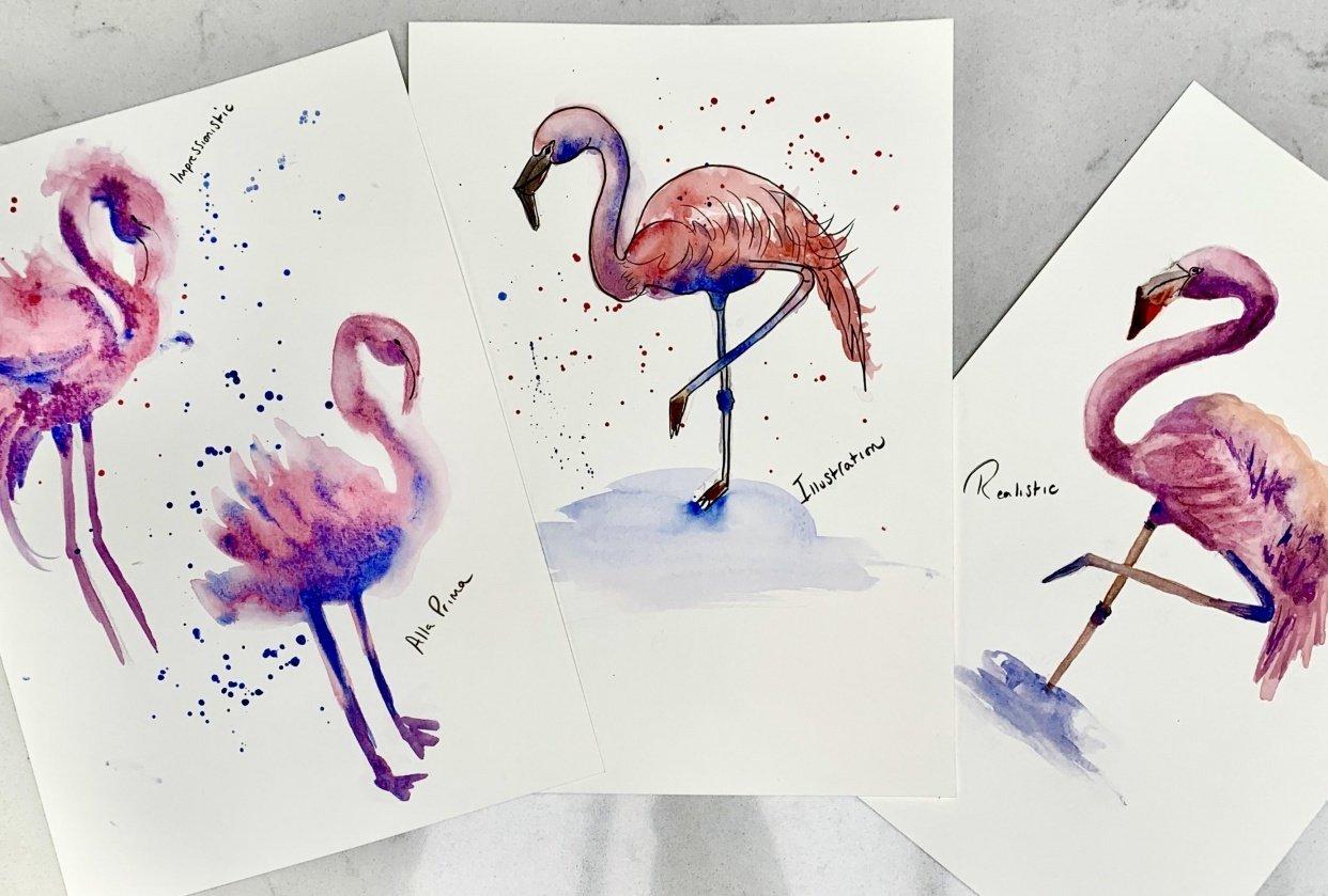 Flamingo Fun - student project