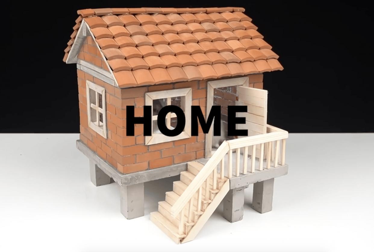 """Home"" (Albatross - Dawn -  Brick) - student project"