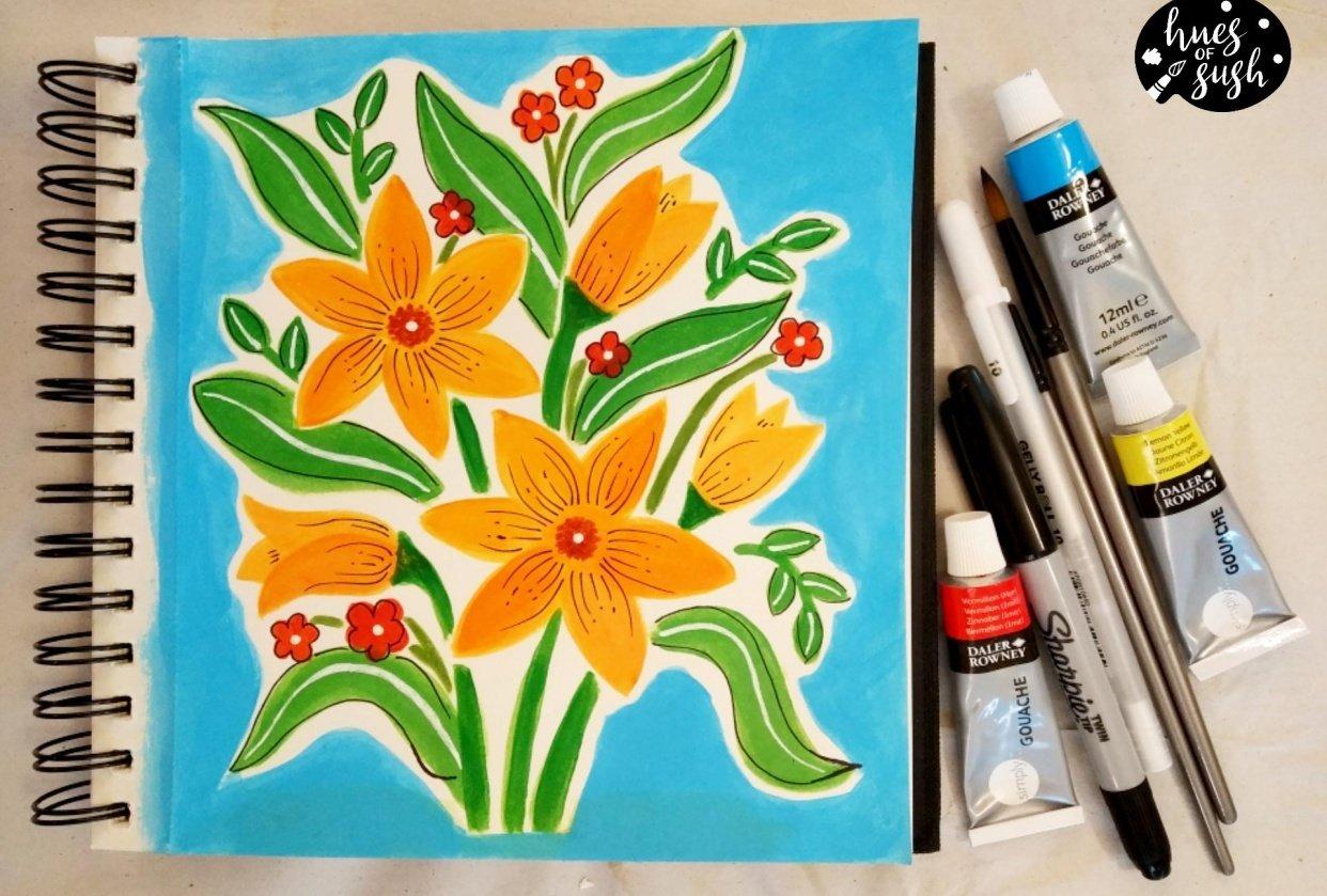 Sush bouquet - student project