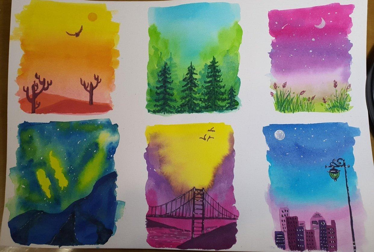 Landscape Minis - student project