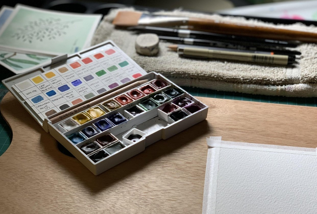 Paints and Palette - student project