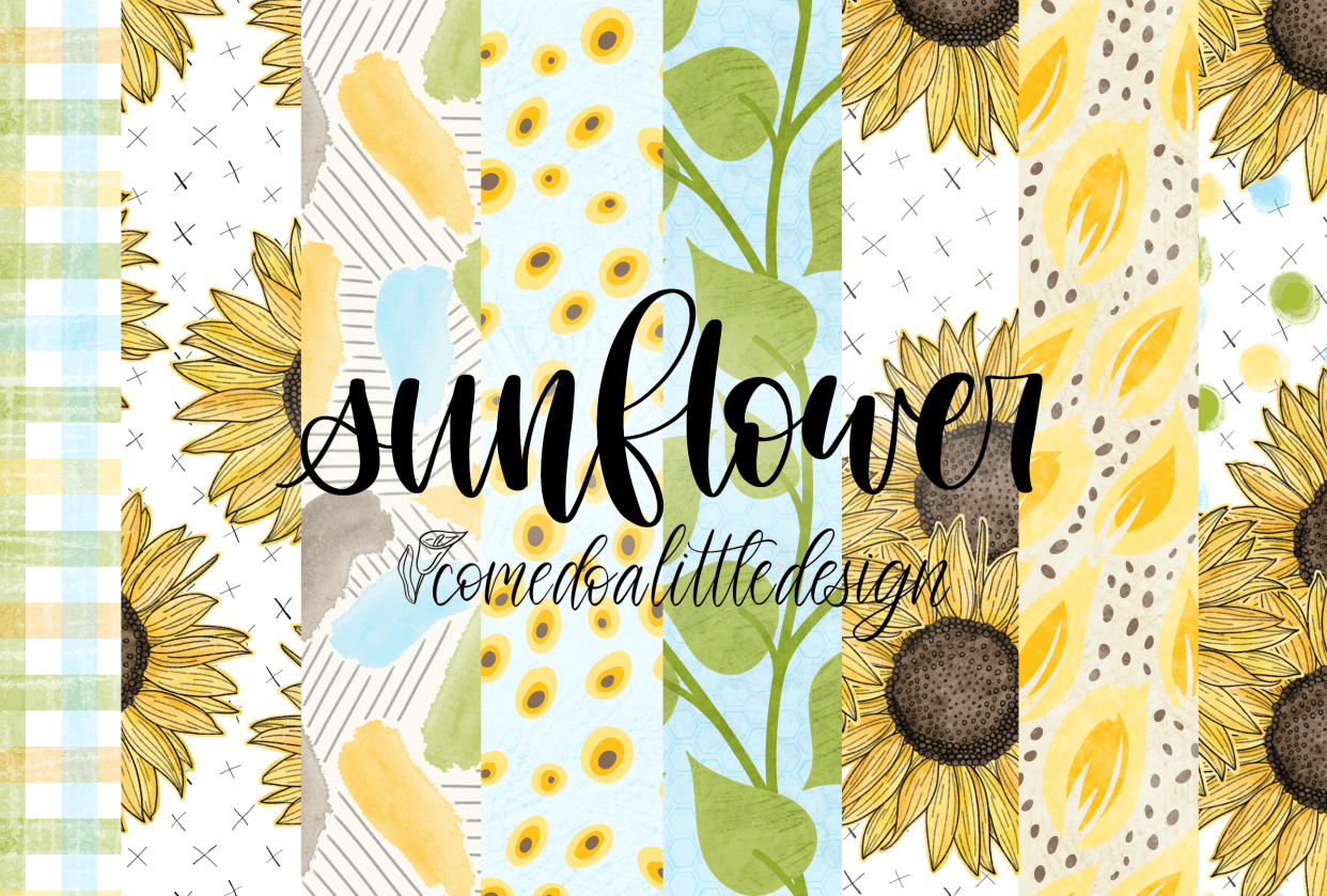 Sunflower Mini Collection - student project