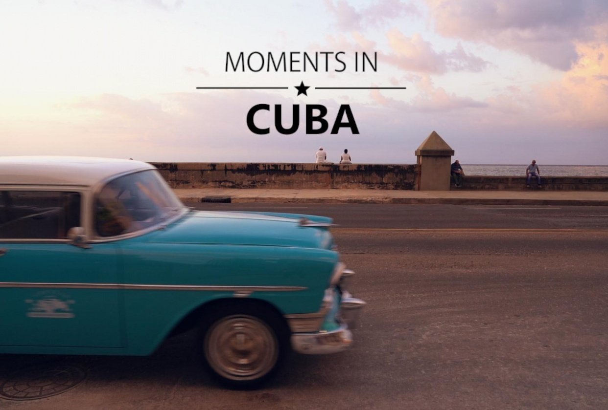 Moments in Cuba - student project
