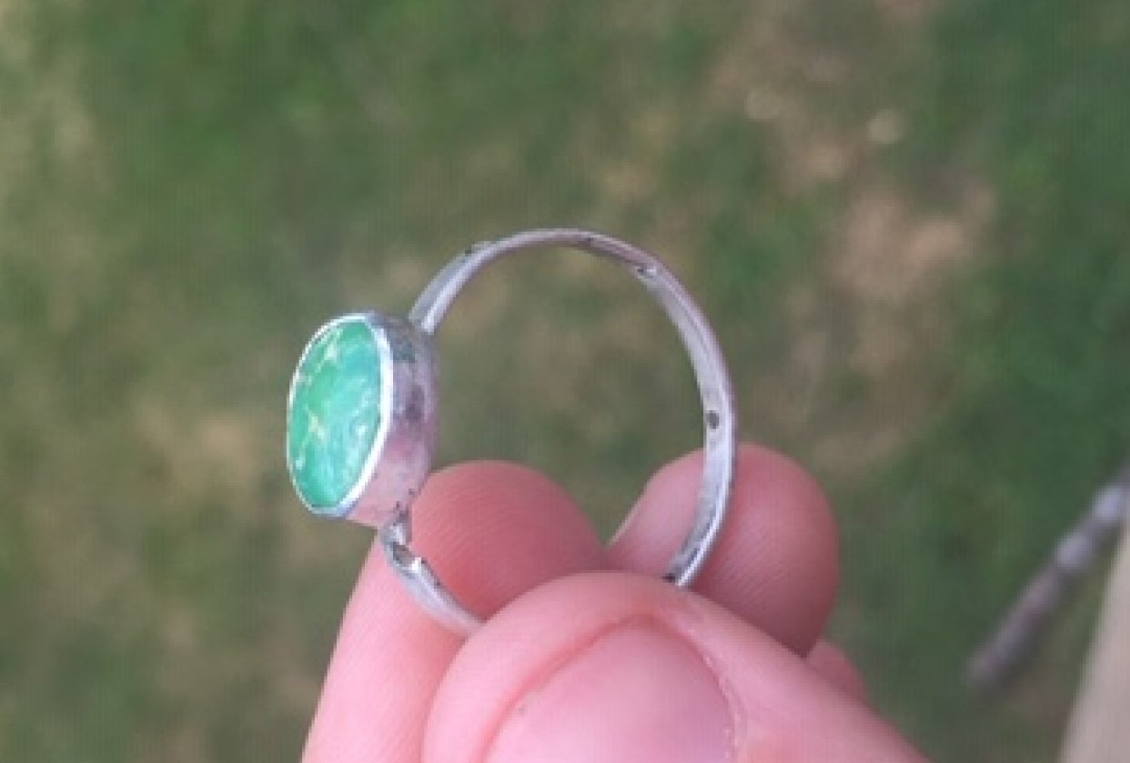 Turquoise Rings - student project