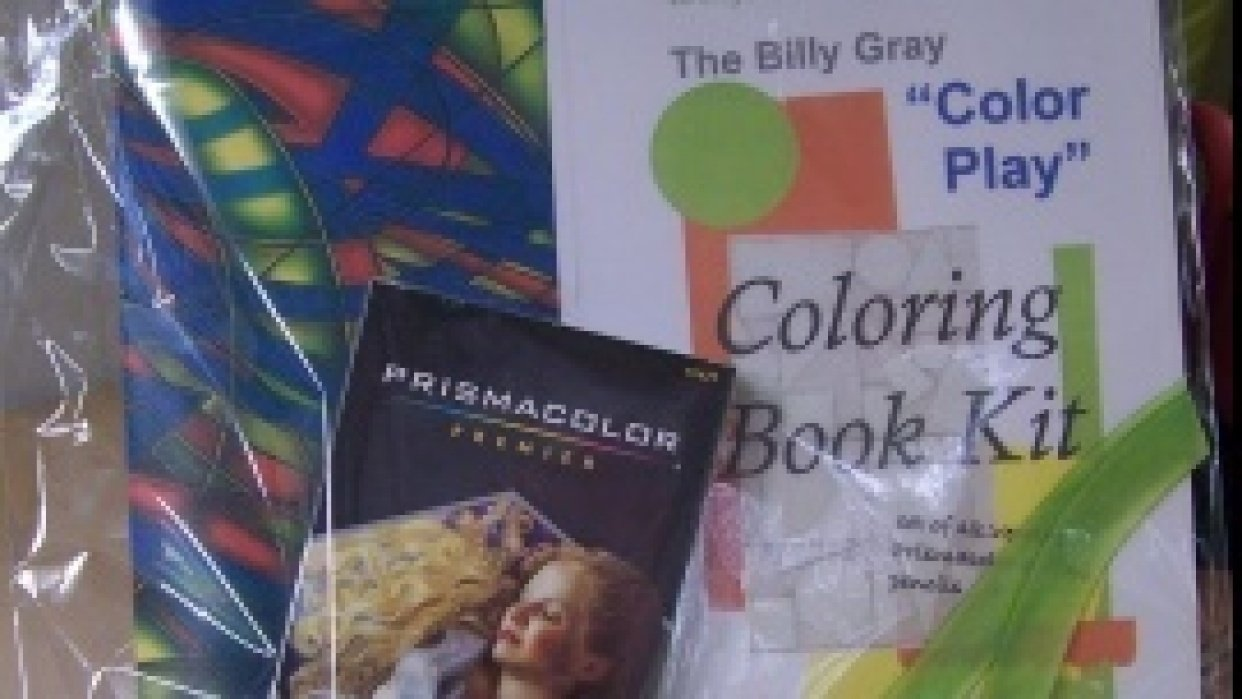 The Billy Gray Color Play Mandala Coloring Book - student project