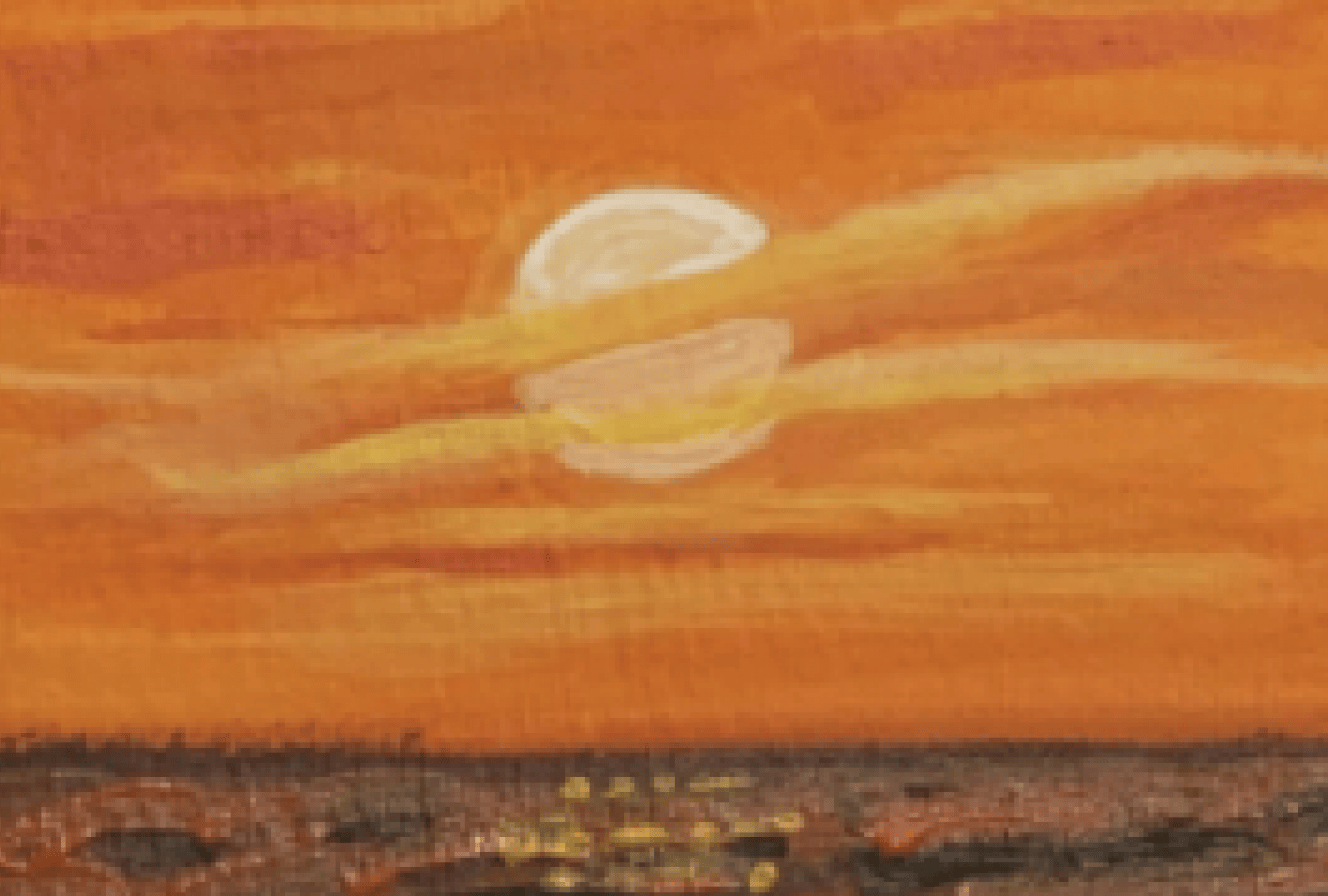 Sunset Reflection - student project