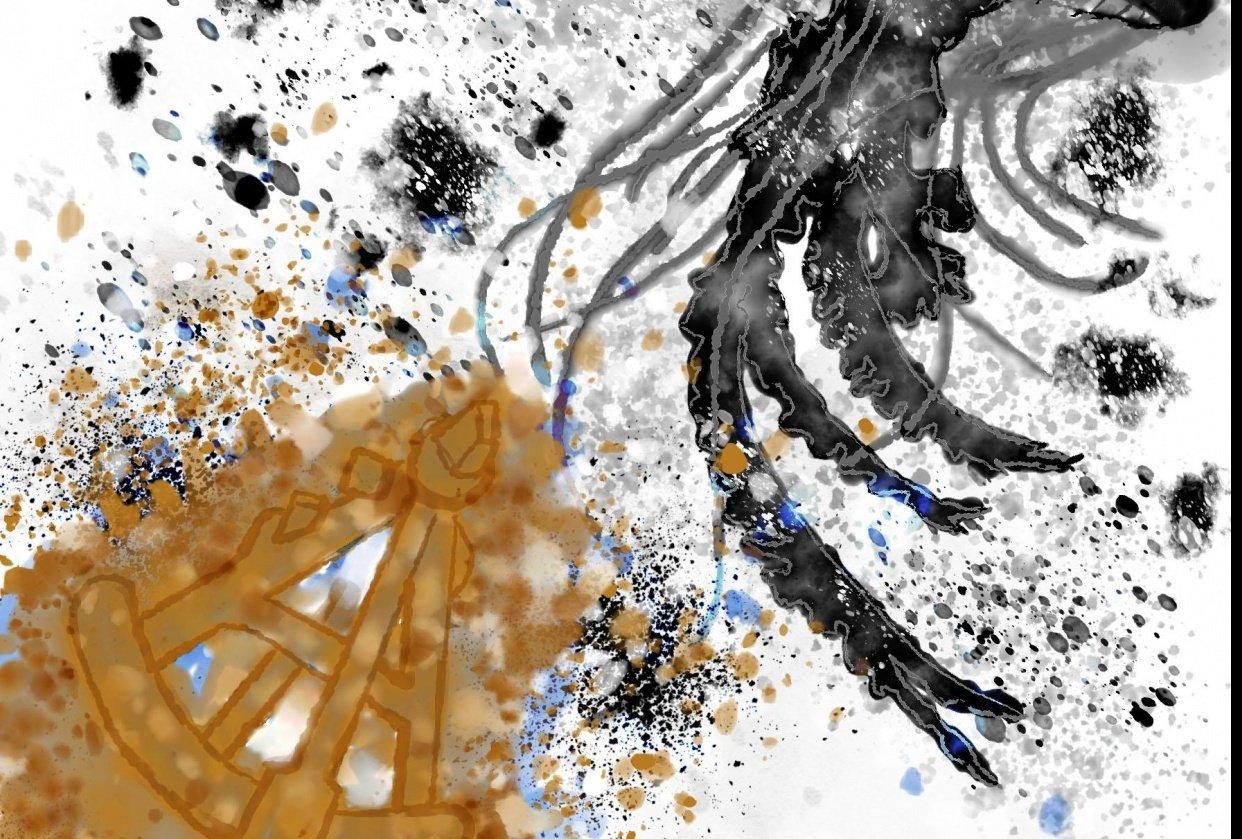Steampunk Jellyfish - student project