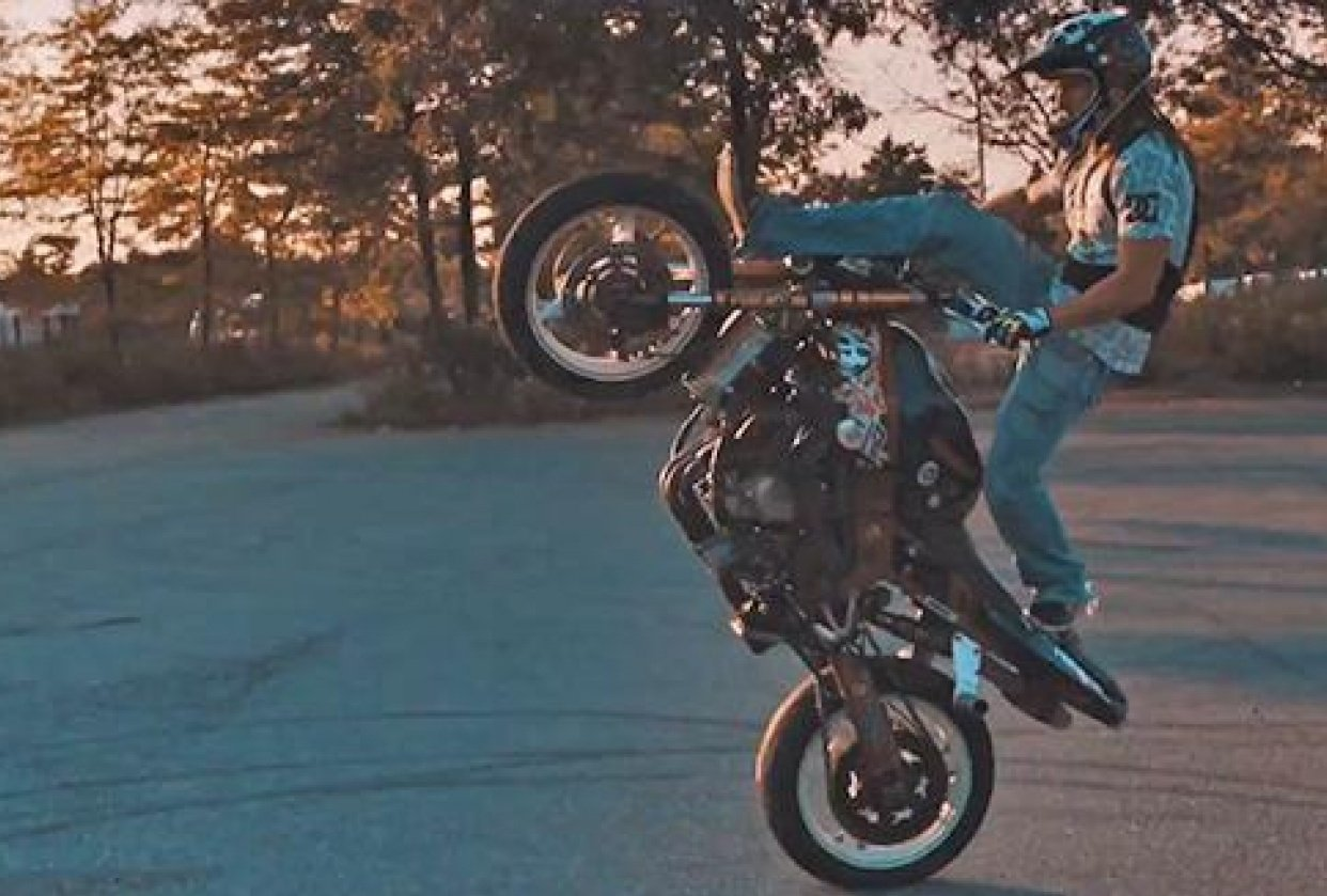 Jonos / motorcycle - student project