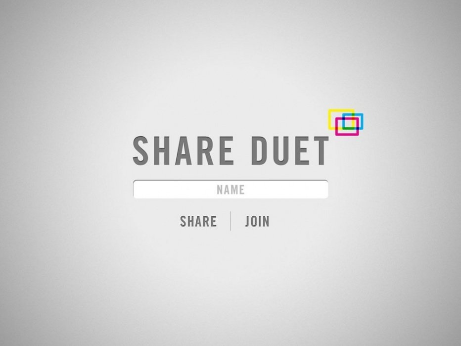 Share Duet - student project