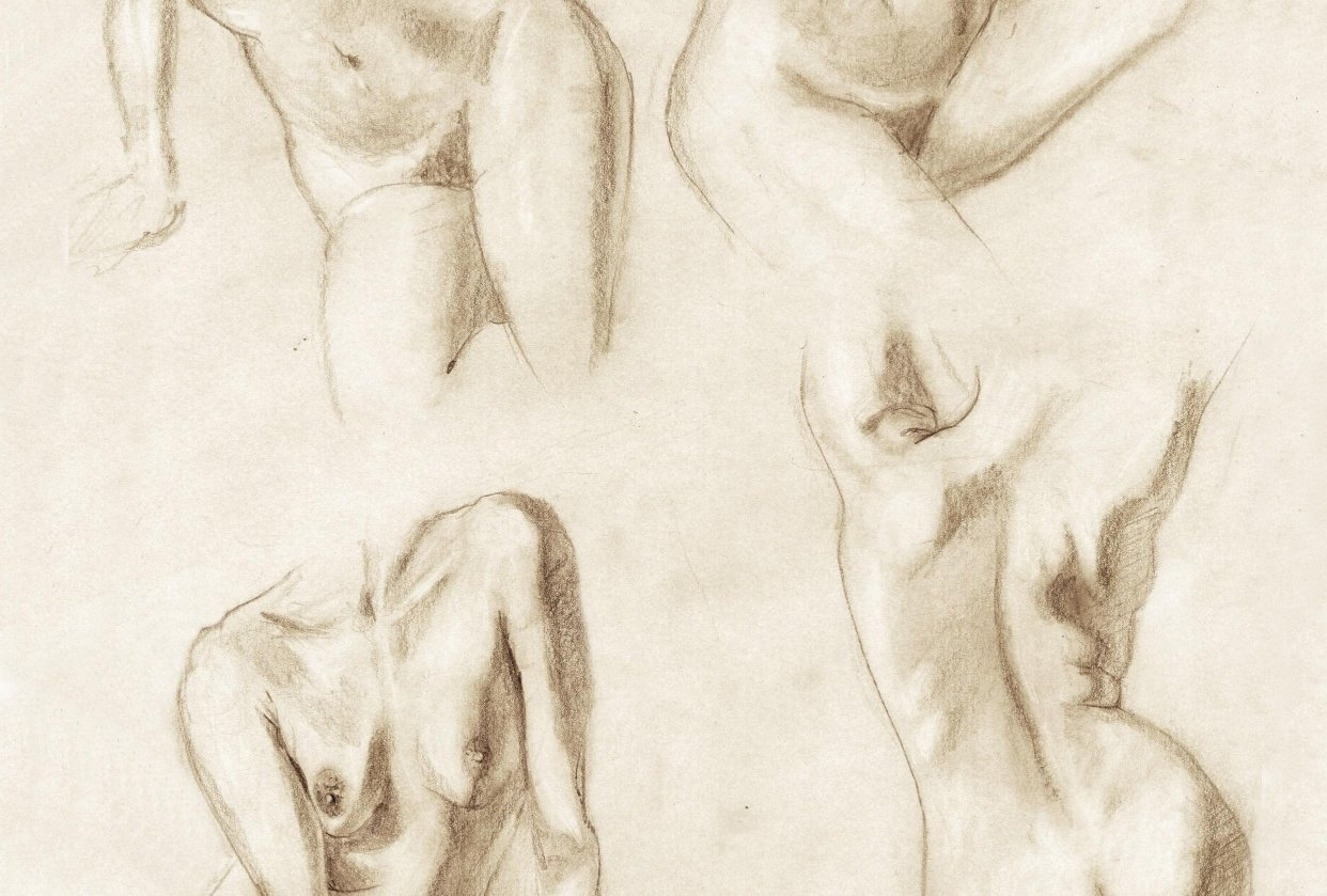 Figure drawing - Gesture - student project