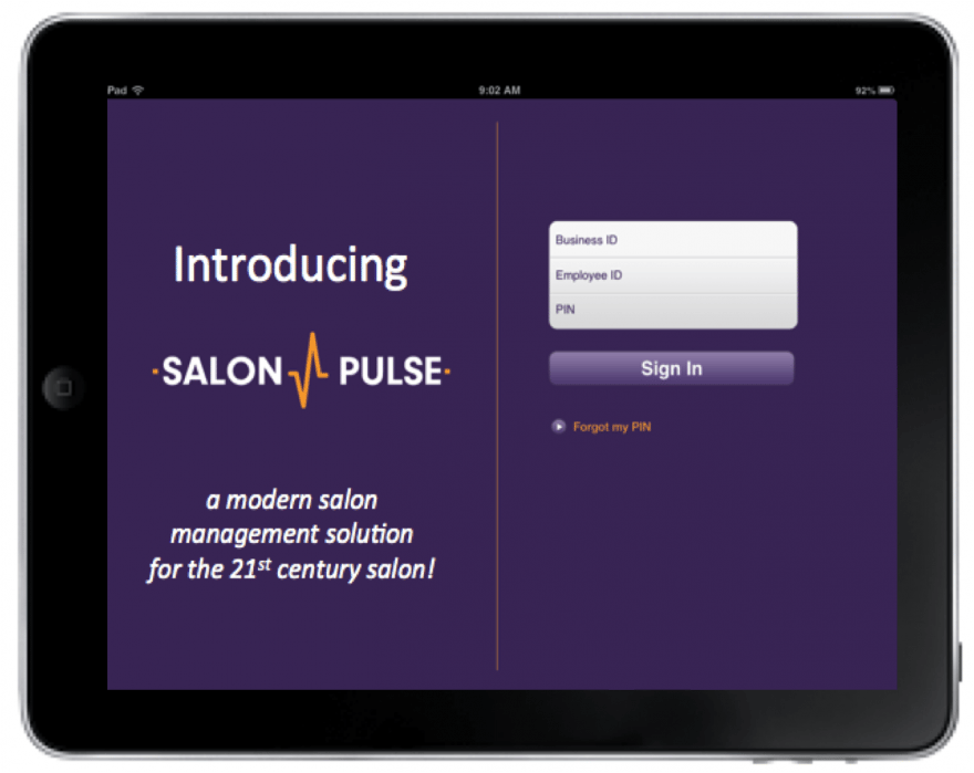 SalonManager - student project