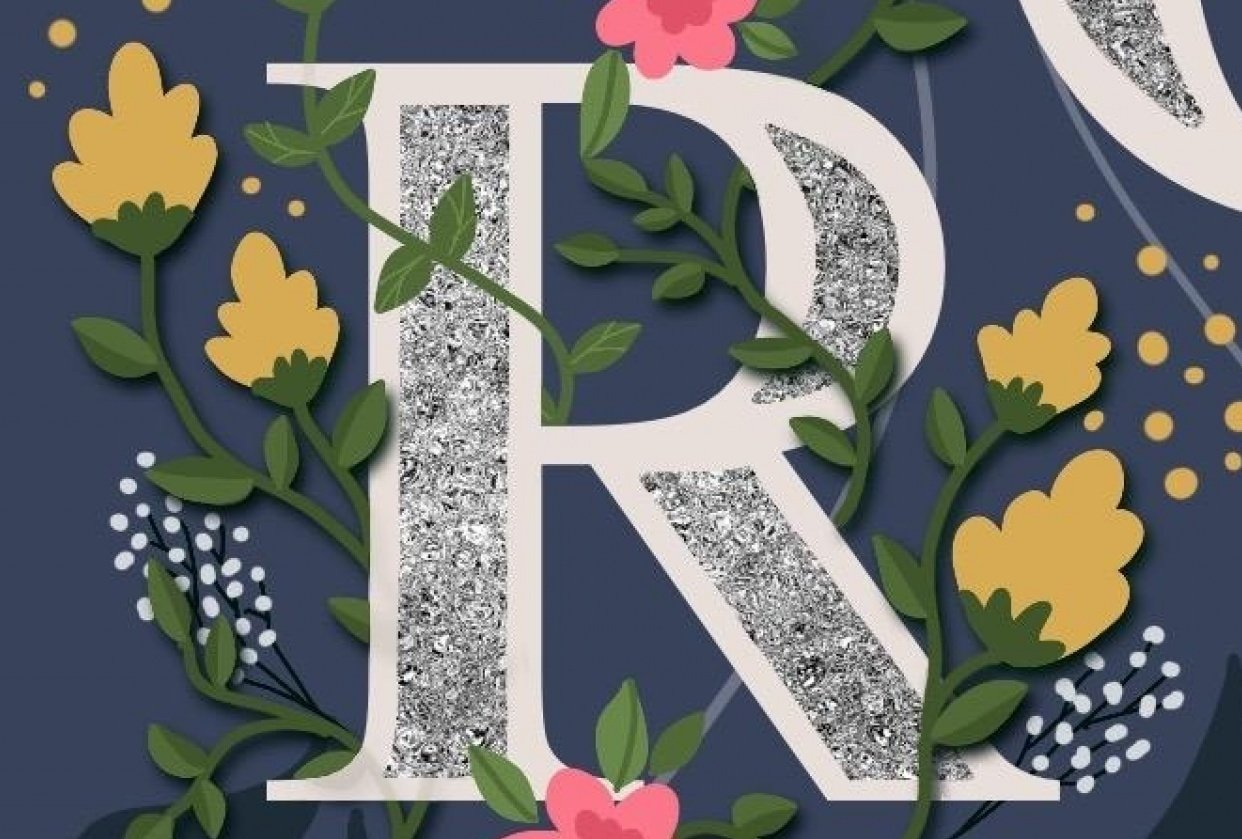 Floral Letters - student project