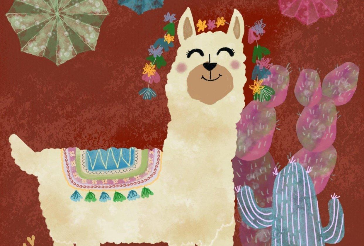 Llamas, Cacti and Piñatas - student project