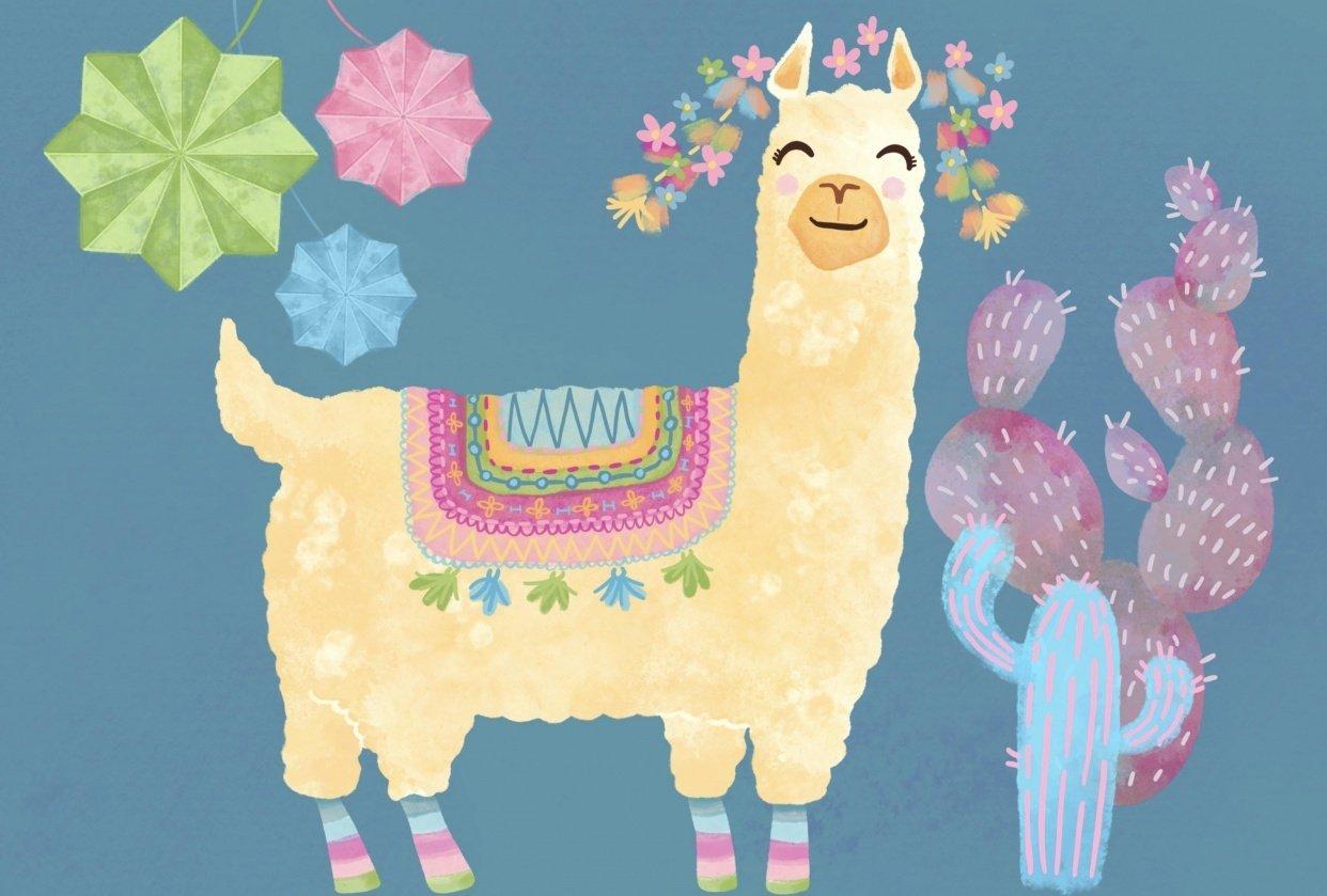 Llama Fiesta - student project