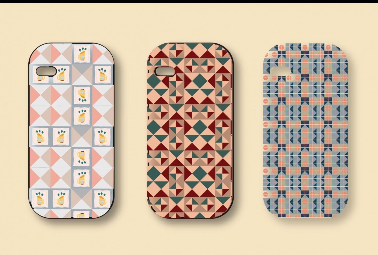 phone cases mock up - student project