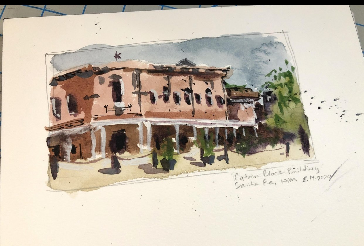 Small Sketches around New Mexico - student project