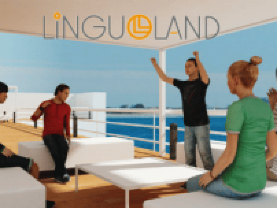 LinguoLand, first virtual world to practice a second language  - student project