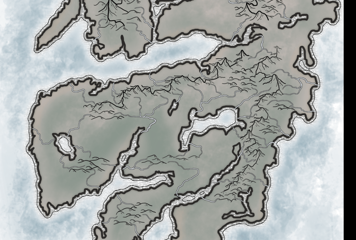 Map Design Process - student project