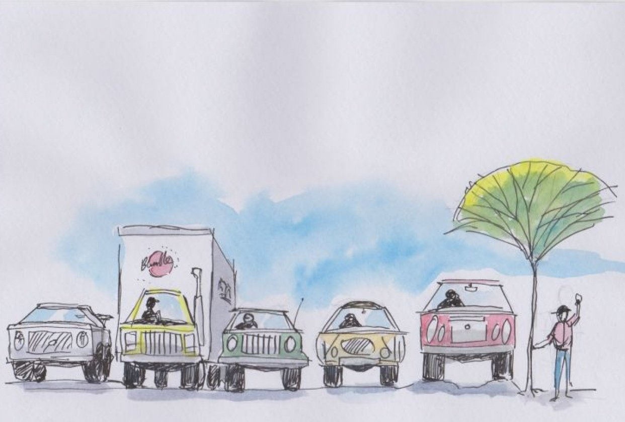These cars are fun to draw! - student project