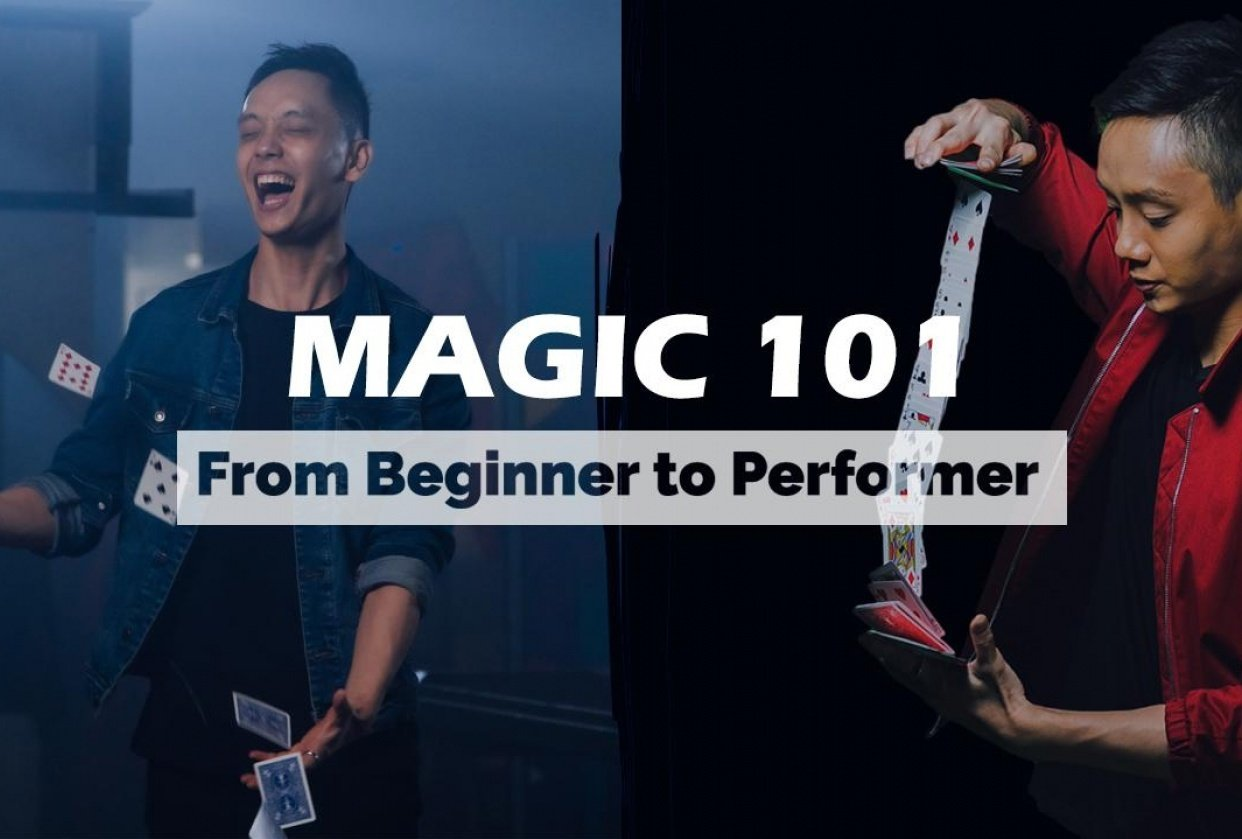 Magic 101 : From Beginner to Performer - student project