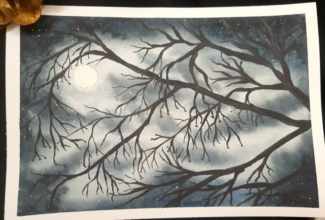 Moonlit Night - student project