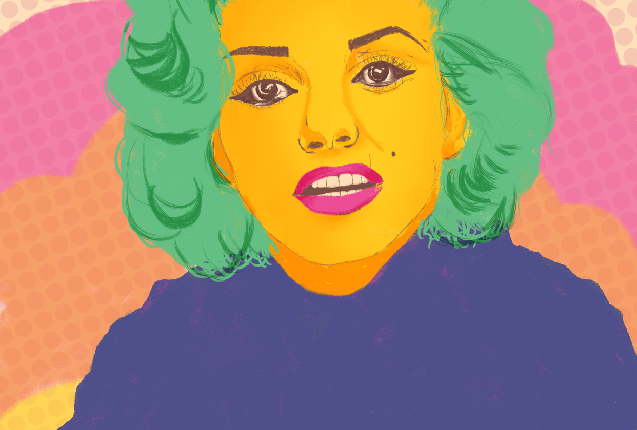 Marilyn Monroe - student project