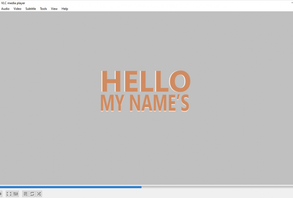 MOTION GRAPHICS CV - student project